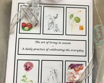 Botanical cards - variety pack