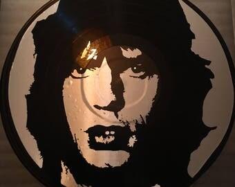 Mick jagger art record rolling stones