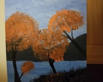 Autumn Acrylic Paint