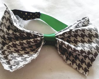 Gray baby headband