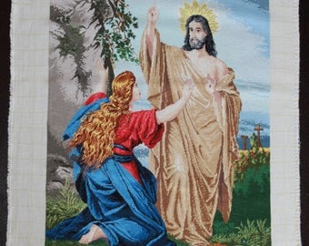 Handmade Tapestry Gobelin Resurrection of Jesus