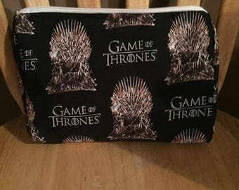 Iron Throne Makeup Bag