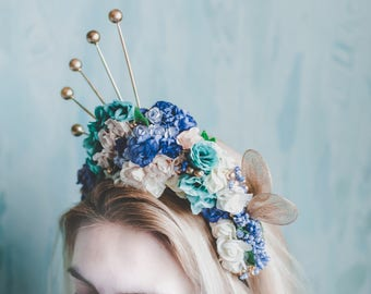 Fairy Headpiece Inspired By Magical Forests [ Crown | Tiara ]