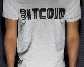 Bitcoin BTC / Cool Cryptocurrency & Blockchain T-Shirts
