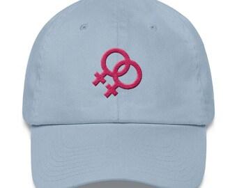 Lesbian Pride Dad hat