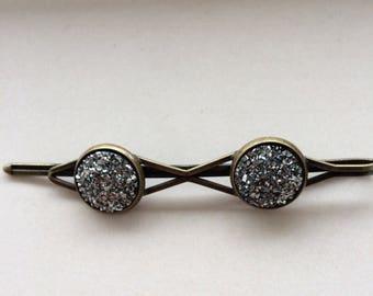 Sliding pin old Bronze 7cm