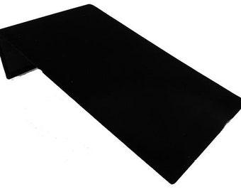 """Bracelet Display Ramp Black Velvet 4 3/4 x 8 x 2"""""""