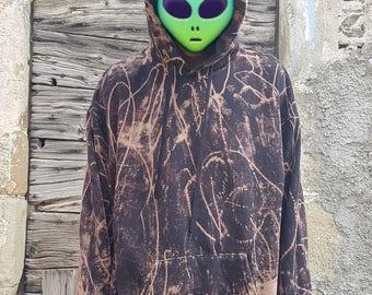 Black Alternative Goa Hoodie Jumper