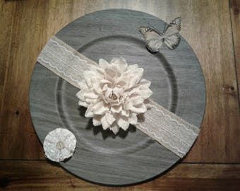 Charger Plate Wall Decor
