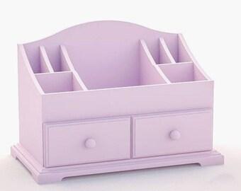 Organizer makeup Mirror organizer Cosmetic Storage Lipstick Storage Mom gifts Gift for her Bathroom cabinet Adjustable shelveset  Home Decor