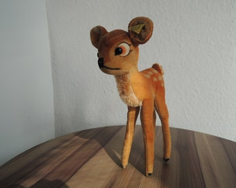 Steiff Bambi with Steiff button and label 7422,00 (22cm height) in excellent condition