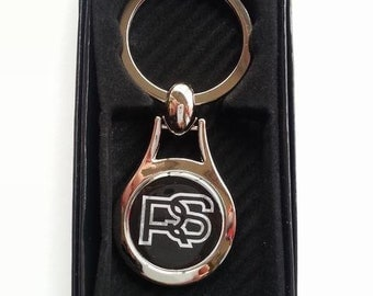 ford RS Chrome Key Ring Fob Keyring Gift Idea