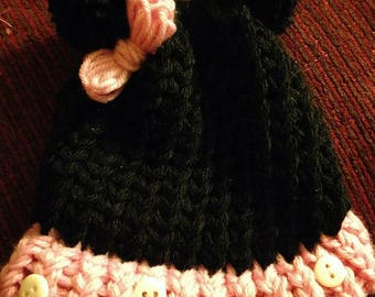 Minnie and Mickey Mouse Beanie