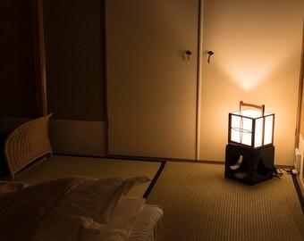 andon   tawaraya ryokan kyoto   inn   lamp   night   light   tatami futon   etsy  rh   etsy