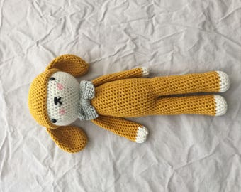Crochet Rabbit with Bow