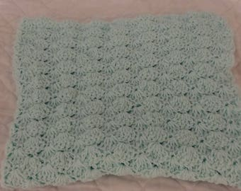 Mint Green Baby Blanket