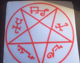 Supernatural Devils Trap decal
