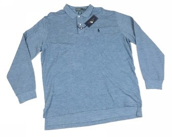 Vintage Rare New Polo Ralph Lauren Long Sleeve Shirt