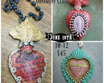 Sacred Heart Beeswax Relic Class June 10th,2017