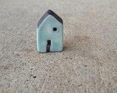 maison, bleu perle