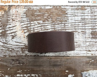 CRAZY SALE- Custom Leather Cuff-Create Your Own-Brown Leather-Word Cuff