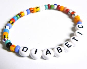 MEDICAL ALERT Boys or Girls Personalized bracelet Phone Number, ICE, Allergy Info, Medical Alert, Diabetic, Asthma, Cell Phone Number
