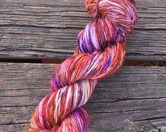 One Of A Kind (OOAK) - Worsted Weight - Superwash Merino - Speckled Yarn - Bayou Base - Ready To Ship