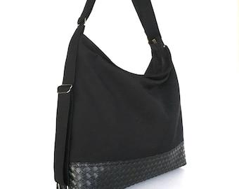 Convertible hobo purse,convertible backpack,travel backpack,Black backpack, office purse,backpack purse, convertible shoulder bag,sisoibags