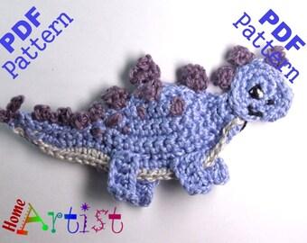 Stegosaurus Dino crochet pattern