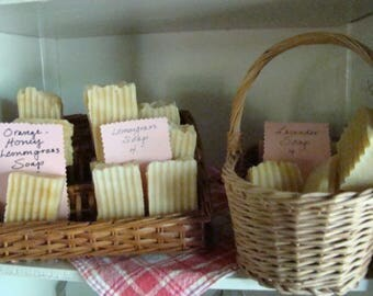 Handcrafted Lemongrass Artisan Soap
