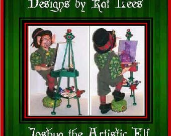 Christmas Elf, Seasonal dolls, Holiday dolls, Christmas dolls, fantasy, whimsical
