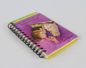 Nancy Drew Book Journal -blank journal made from a recycled vintage book by Rebound Designs