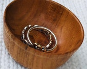 Hand-Turned Ring Bowl - Cherry