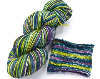 Vivo Forte Watercolor Stripes Pop Culture Yarn - Self-Striping Targhee Sock Yarn Made to Order