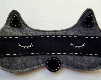 Raccoon Sleeping Mask -can customize color!