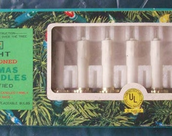 3 Boxes Vintage Christmas Tree Candle Lights