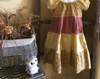 3T/4T Peasant  style girls dress.