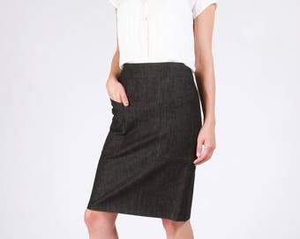 Sew House Seven PATTERN - Alberta Street Pencil Skirt - Sizes 0 to 20
