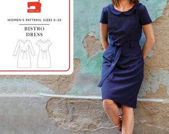 Liesl & Co PATTERN - Bistro Dress - 0-20