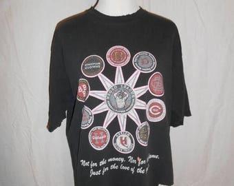 SALE 25% off SALE Vintage 90s 1990s    NLBPA    Negro League Baseball Players Association    shirt tee t shirt tshirt       clothing