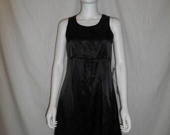 Closing Shop 40%off SALE 90s Black Minimalist Dress, Vintage 90s Short Dress, Size Small Dress