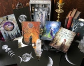 Terri Foss Earthly Souls and Spirits Oracle Card Collection Set Same Free Guide Sheet Pouch Included Now Larger 4x6 No Box Updated Version