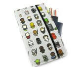 Travel Wallet, passport holder, family travel wallet, travel organizer, passport wallet, document holder - Star Wars Characters