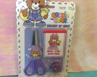Vintage Bonnie the Bear mini Stationary accessories