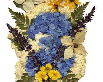 "5x7 Greeting Card ""Dried Flowers 8"""
