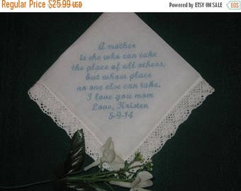 ON SALE Mothers Love Handkerchief 162S free gift box and Free shipping in the Us