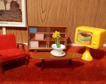 """Blue Box Hong Kong Miniature Furniture Assortment 1/2"""" scale"""
