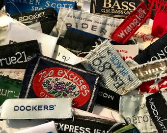 Reclaimed Clothing Tags