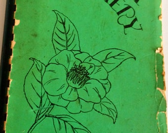 Vintage Camellia Cookery Cook Book Tallahassee's Favorite Recipes 1950