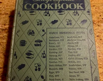 1950s Culinary Arts Institute Encyclopedia Cook Book